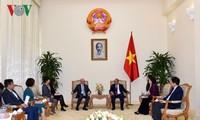 Nguyên Xuân Phuc reçoit un dirigeant du FMI