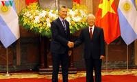 Communiqué commun Vietnam-Argentine