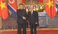 Entretien Nguyên Phu Trong - Kim Jong-un