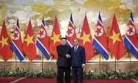 Kim Jong-un rencontre le Premier ministre Nguyên Xuân Phuc