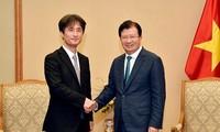 Trinh Dình Dung invite les Japonais à investir dans les infrastructures et l'énergie