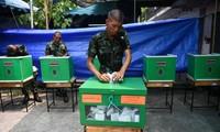En Thaïlande, le parti proche de l'armée en tête des élections législatives