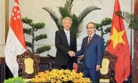 Teo Chee Hean à Hô Chi Minh-ville