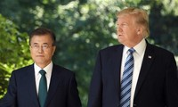Moon Jae-in arrive aux États-Unis pour rencontrer Trump
