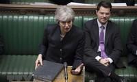 Theresa May sur le départ