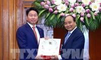 Le Premier ministre vietnamien reçoit le président du groupe sud-coréen SK