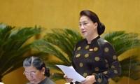 Acara interpelasi pada persidangan ke-7 MN Viet Nam memanifestasikan peranan, tanggung jawab dan hak pengawasan dari  MN