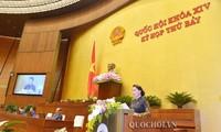 Assemblée nationale: clôture de la 7e session de la 14e législature
