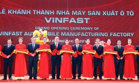 Inauguration de l'usine Vinfast à Hai Phong