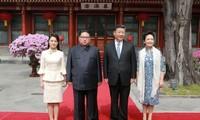 Xi Jinping rencontre Kim Jong-un