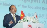 Le PM Nguyên Xuân Phuc rencontre les dirigeants de grandes entreprises japonaises