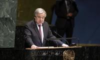 """Le chef de l'ONU appelle à une action urgente pour éviter une """"catastrophe"""" climatique"""