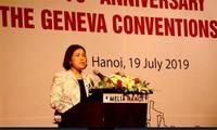 70e anniversaire de la ratification des quatre Conventions de Genève de 1949 sur le Droit international humanitaire