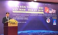 Forum commercial Vietnam - États-Unis 2019