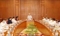 La réunion de la sous-commission élaboratrice des documents du 13e Congrès du Parti
