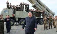 Kim Jong-un a supervisé des manœuvres nord-coréennes