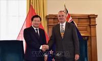 Le Vietnam et la Nouvelle Zélande s'engagent à dynamiser leur partenariat stratégique