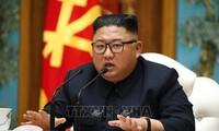 """Kim Jong-un reparaît, la RPDC annonce """"renforcer"""" sa dissuasion nucléaire"""