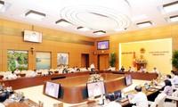 Résolution ajustant le programme législatif de 2020