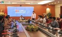 Lancement de la plateforme d'administration générale des entreprises