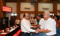 Nguyên Xuân Phuc rencontre l'électorat de Hai Phong
