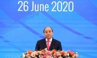 Conférence de presse sur les résultats du 36e sommet de l'ASEAN