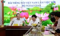La Voix du Vietnam renforce sa collaboration avec le ministère des Affaires étrangères