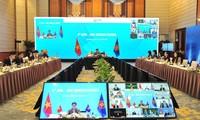 Réunion virtuelle sur la coopération économique ASEAN - Hong Kong