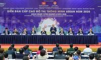 Nguyên Xuân Phuc au Forum sur les villes intelligentes de l'ASEAN