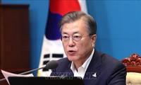 Forum de Jeju : Moon Jae-in promet des efforts inlassables pour pacifier et dénucléariser la péninsule