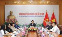 Parti communiste vietnamien-Parti social démocrate allemand : dialogue en ligne