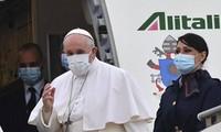 Message de paix du pape Francois aux Irakiens