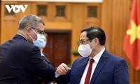 Pham Minh Chinh reçoit le président de la COP 26