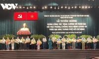 Hô Chi Minh-ville met à l'honneur les groupes de travail venus en renfort pour la lutte anti-Covid-19