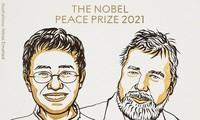 Prix Nobel de la paix : Deux journalistes, Maria Ressa et Dmitry Mouratov, distingués