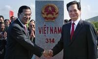 Khánh thành cột mốc có số thứ tự cuối cùng trên đất liền Việt Nam - Campuchia