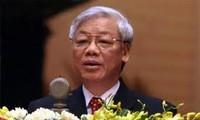 Tổng Bí Thư Nguyễn Phú Trọng tiếp Phó Thủ tướng Lào Xổm- xa-vạt Lêng- xa-vắt