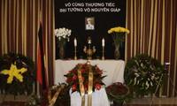 Đại sứ quán Việt Nam tại Ba Lan mở sổ tang, tổ chức Lễ viếng Đại tướng Võ Nguyên Giáp