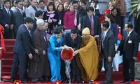 Chủ tịch nước Trương Tấn Sang dự chương trình Xuân quê hương 2014