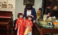 Tết Việt ở gia đình chị Liên Hương