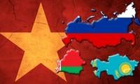 Tiến trình đàm phán FTA giữa Việt Nam với Liên minh Hải quan Nga - Belarus - Kazakhstan