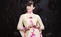 Việt Nam tham gia trình diễn áo dài tại Triển lãm thời trang ASEAN-Trung Quốc 2014