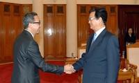 Thủ tướng Nguyễn Tấn Dũng tiếp Đại sứ Brunei
