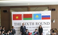 Kết thúc vòng đàm phán thứ 6 FTA giữa Việt Nam và Liên minh Hải quan Nga – Belarus – Kazakhstan