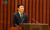 Chủ tịch nước trình Quốc hội 2 Tờ trình phê chuẩn Công ước của Liên hợp quốc về quyền con người