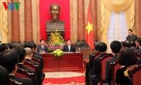 Chủ tịch nước gặp gỡ các doanh nghiệp đạt giải Thương hiệu Quốc gia năm 2014