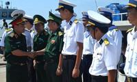 Vùng 5 Hải quân tổ chức thăm và chúc Tết các đảo thuộc vùng biển Tây Nam