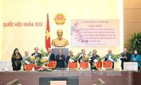 Chủ tịch Quốc hội chúc Tết nguyên đại biểu Quốc hội chuyên trách