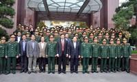 Phó thủ tướng Hoàng Trung Hải thăm và làm việc với một số đơn vị ngành than trên địa bàn Quảng Ninh