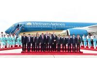 Vietnam Airlines là hãng hàng không đầu tiên của Châu Á nhận máy bay Airbus A350-900